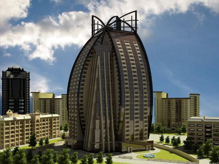 Trump Tower Baku Baku Business Centre Building Under