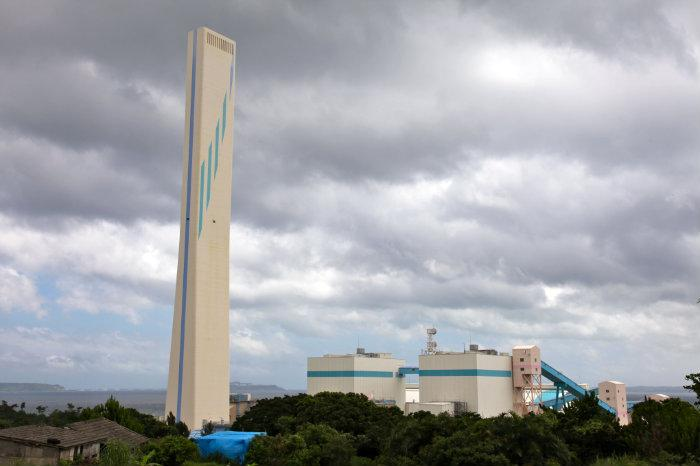 金武火力発電所