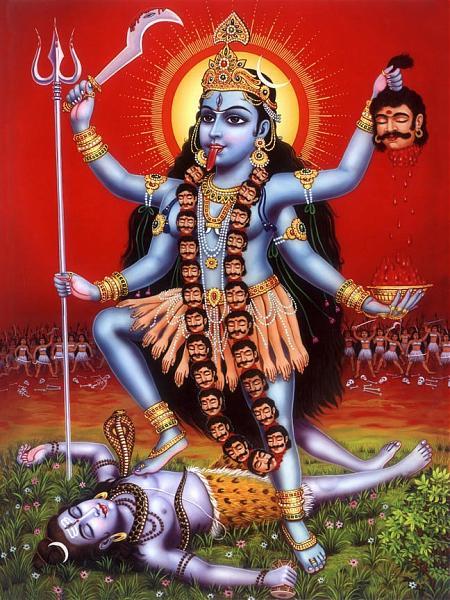Goddess mahakali-kali-devi-maa-patal-bheravi-pavagadh
