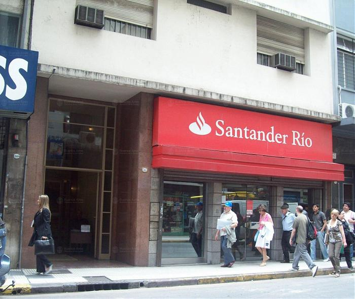 banco santander r o sucursal n 115 plaza lavalle