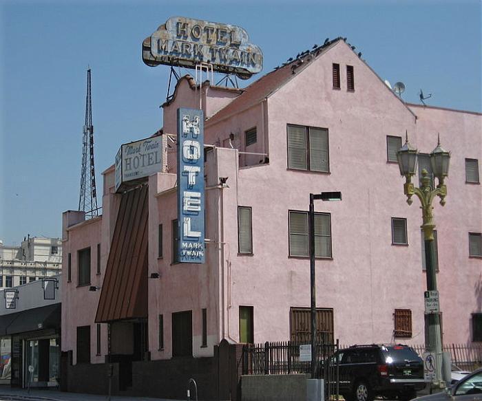 mark twain hotel los angeles california