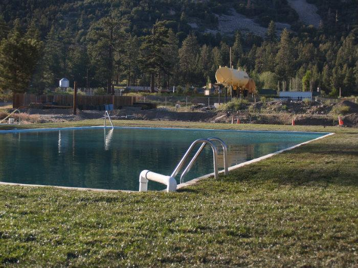 The Old Pan Hot Springs Swimming Pool
