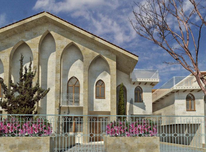 Zaytouneh villas project alley lebanon aley - Libanese villa ...