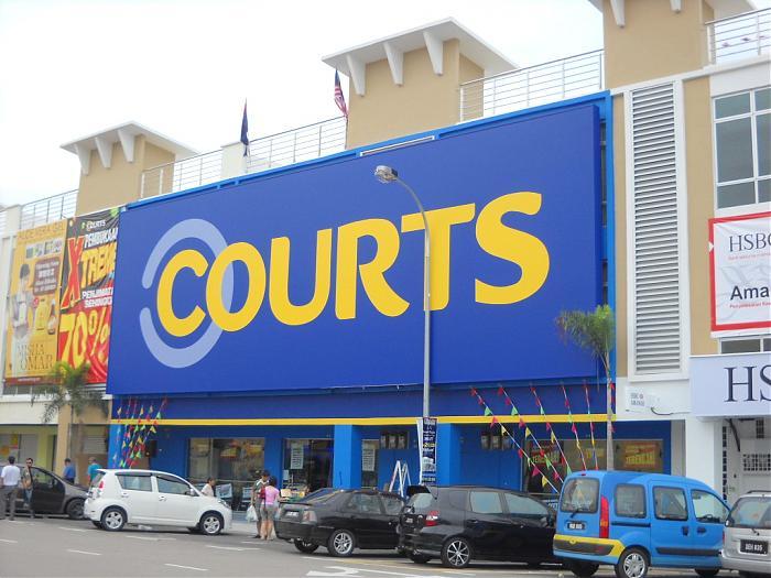 Courts Johor Bahru District