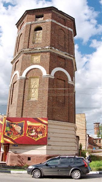 Водонапорная башня на ул кирова в павловском посаде