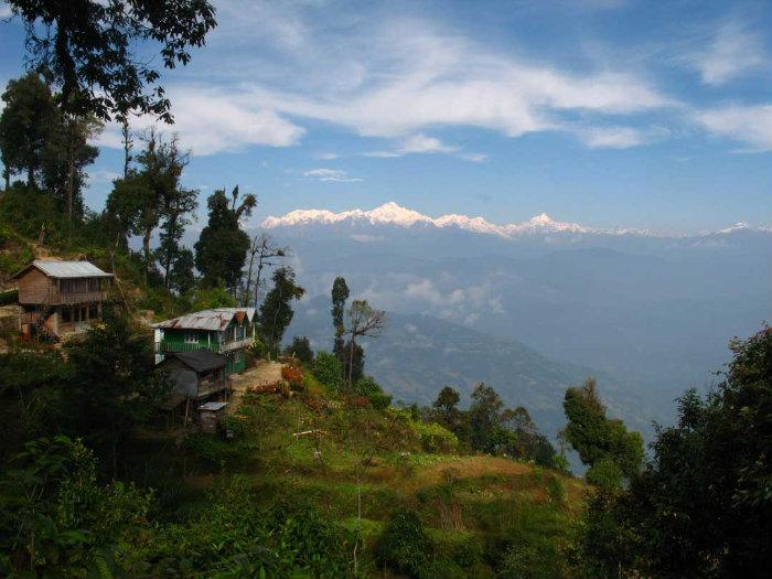 Rishop India  city pictures gallery : village , mountain hut