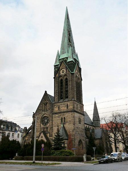 Kath Herz Jesu Kirche Dresden