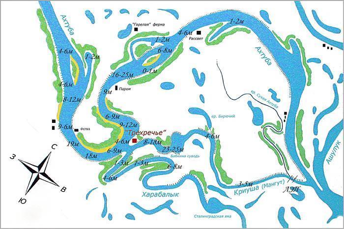 Интерактивная карта рыбаков Подмосковья