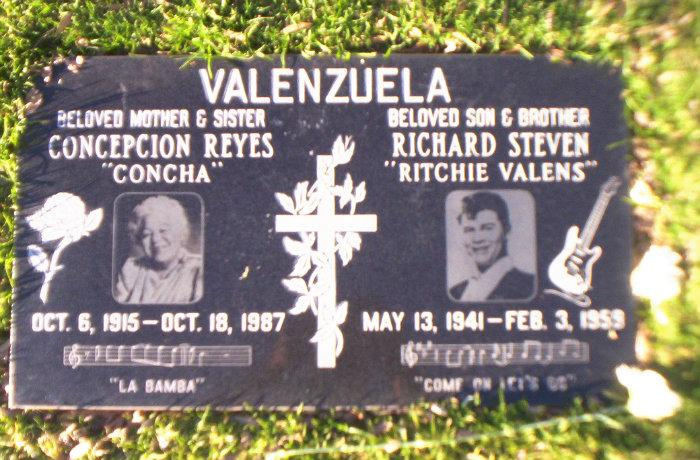 Ritchie Valens grave - Los Angeles, California