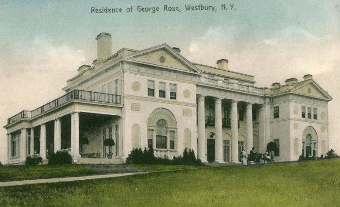 Location of overland house old westbury new york for Old new york mansions