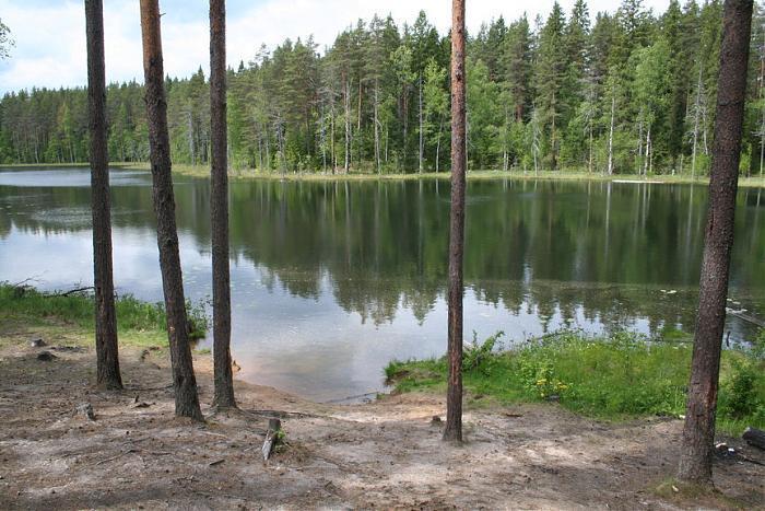 озеро фигурное ленинградская область рыбалка