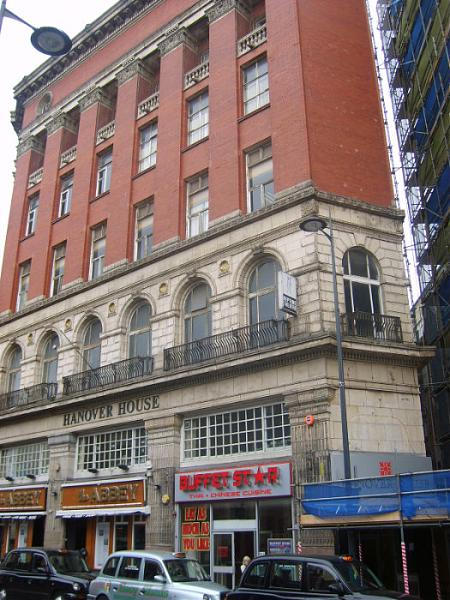 Hanover house liverpool for The hanover house