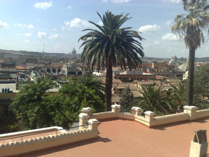 Terrazza panoramica del Pincio - Roma