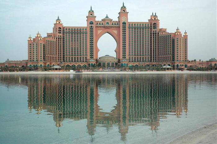 Atlantis the palm hotel for Biggest hotel of dubai