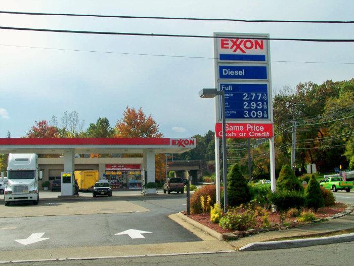 Exxon Gas Station