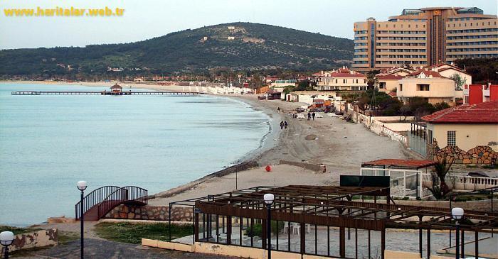 Ilıca Plajı , izmir