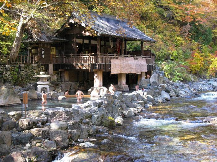 takaragawa onsen osenkaku minakami  gunma
