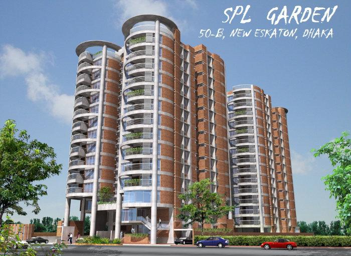 Spl Garden Dhaka City Apartment Building