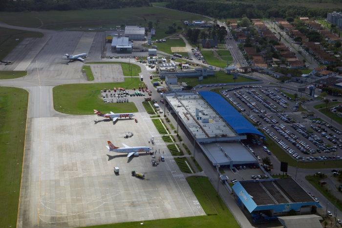 Resultado de imagem para aeroporto florianopolis