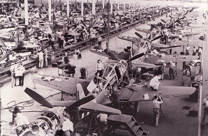 bell aircraft factory