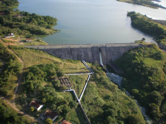 Resultado de imagem para imagens da Barragem Tapacurá