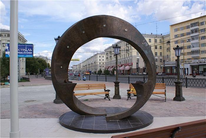 Лента Мёбиуса - Екатеринбург Исторический Сквер Екатеринбург
