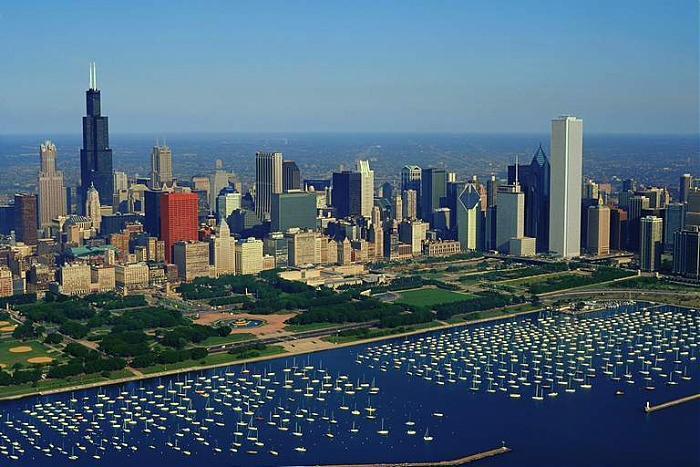 Monroe Harbor Chicago Illinois