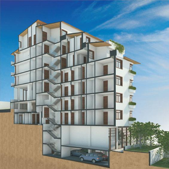 City front apartments pristina for Big city apartments
