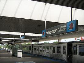 Rosemont Cta Station Rosemont Illinois