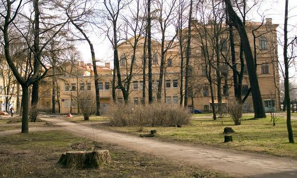 Первый медицинский институт им. И. П. Павлова .  Центр микробиологических исследований.  Фотография 1 из 1.