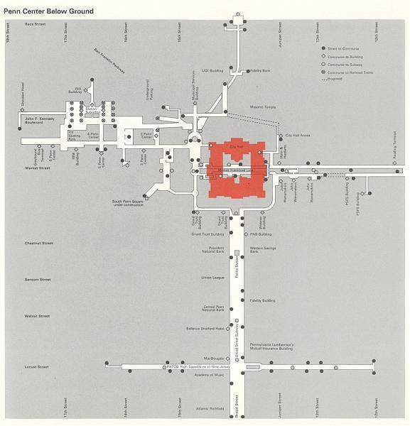 Patco speedline to Comcast Center (Ashland: city hall, suburban ...