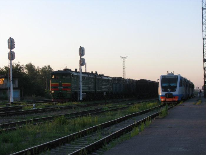 После этого. перестанет быть тупиковым.  Начнутся грузовые перевозки.  На днях Волгодонскую железнодорожную станцию...