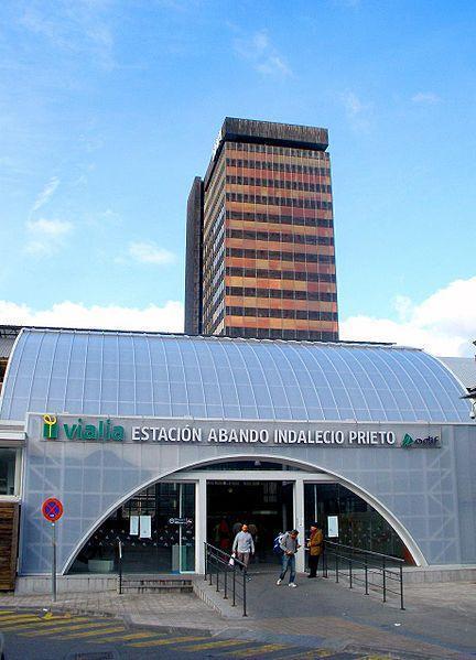 Bbva Oficina Central Of Torre Banco De Vizcaya Sede Bbva Bilbao