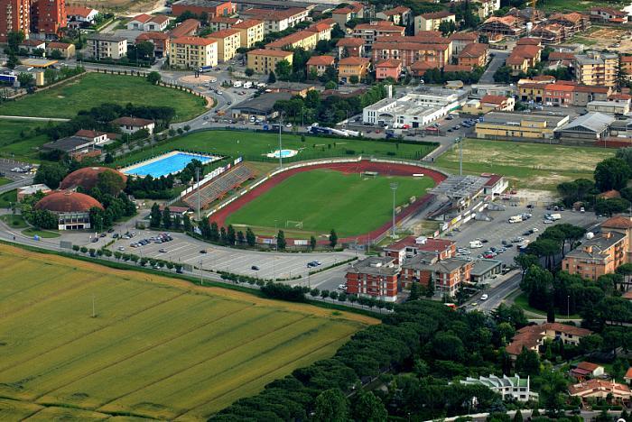 Pontedera Italy  city photo : Stadio di Pontedera Pontedera