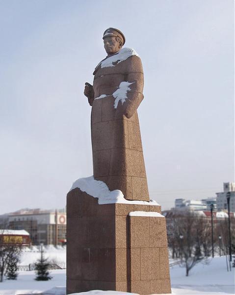 Памятник И. М. Малышеву - Екатеринбург Исторический Сквер Екатеринбург