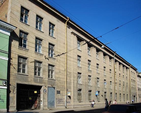 Бывшая школа №261 санкт петербург