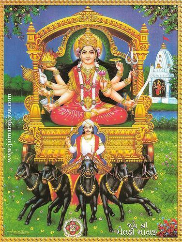 Best Goddess Meldi Mandir Photo Gallery for Free Download