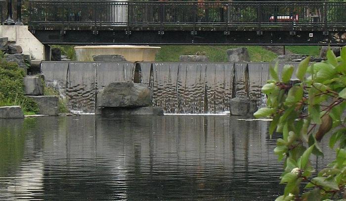 Cascade chute d 39 eau cascade sur le ninepix for 3d jardin torrent
