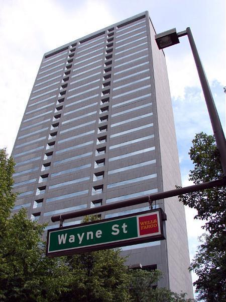 indiana michigan power building center wayne fort office chase bank tallest tall formerly 1982 summit completed known square