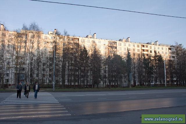 3 район зеленограда: