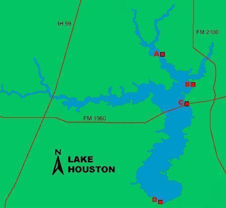 Lake houston atascocita texas for Lake houston fishing