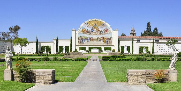 Forest Lawn Cemetery In Long Beach Ca
