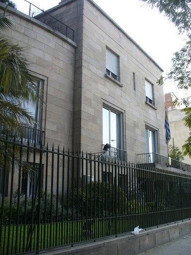Residencia del Embajador de la Rep. Oriental del Uruguay