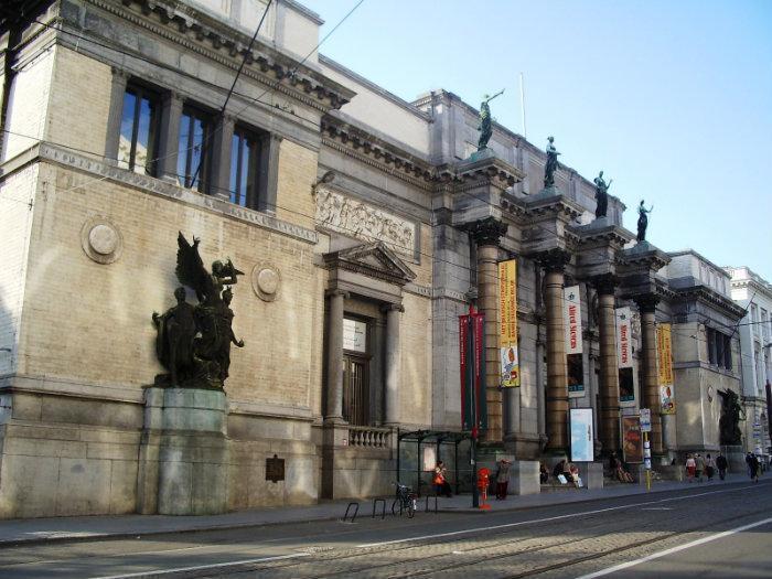 королевский музей изящных искусств брюссель порка