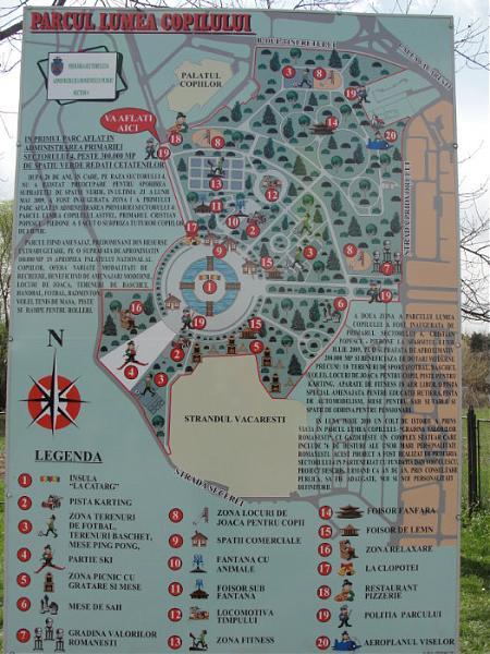 Parcul Lumea Copiilor Bucuresti