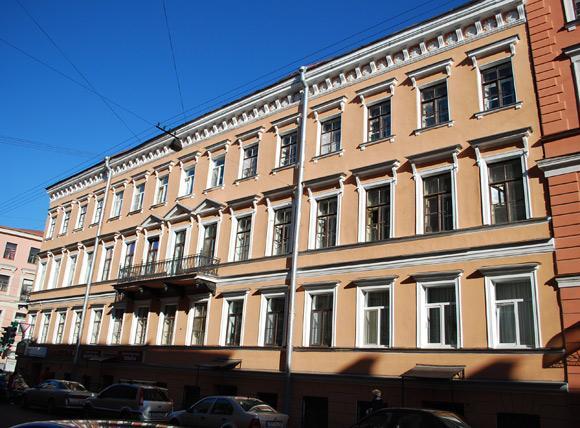 Площадь островского, 5 / переулок крылова, 7 санкт-петербург