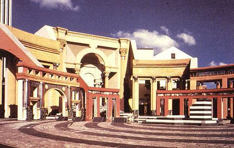 Piazza d 39 italia new orleans louisiana for Design postmoderno