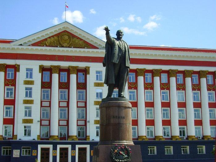 Сумма затрат на ремонт памятника Ленину возмутила курян