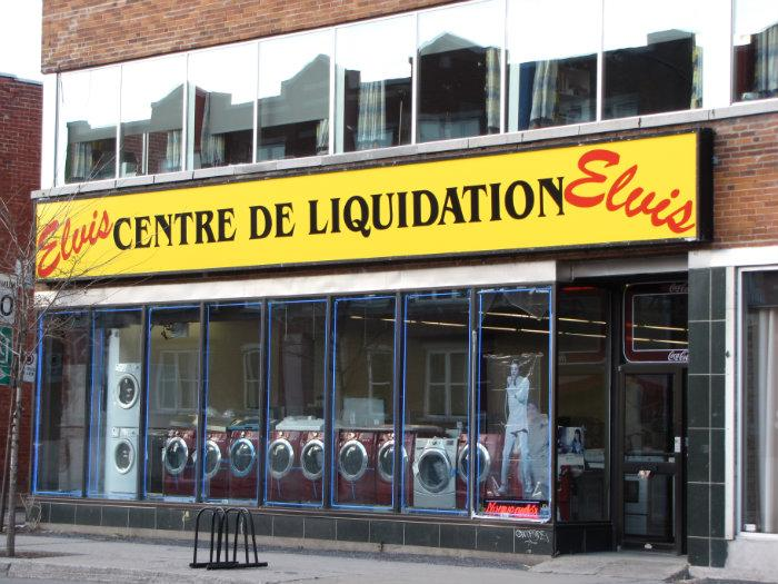 Centre de liquidation elvis communaut m tropolitaine de for Meuble en liquidation montreal