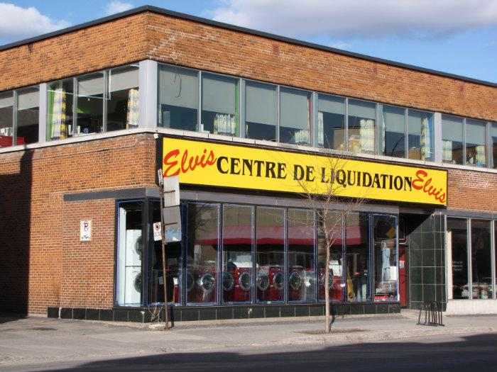 Centre de liquidation elvis communaut m tropolitaine de for Boutique meuble montreal